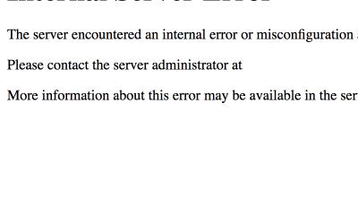 How To Fix The WordPress Internal Server Error
