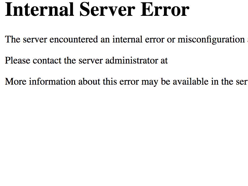 How To Fix The WordPress Internal Server Error