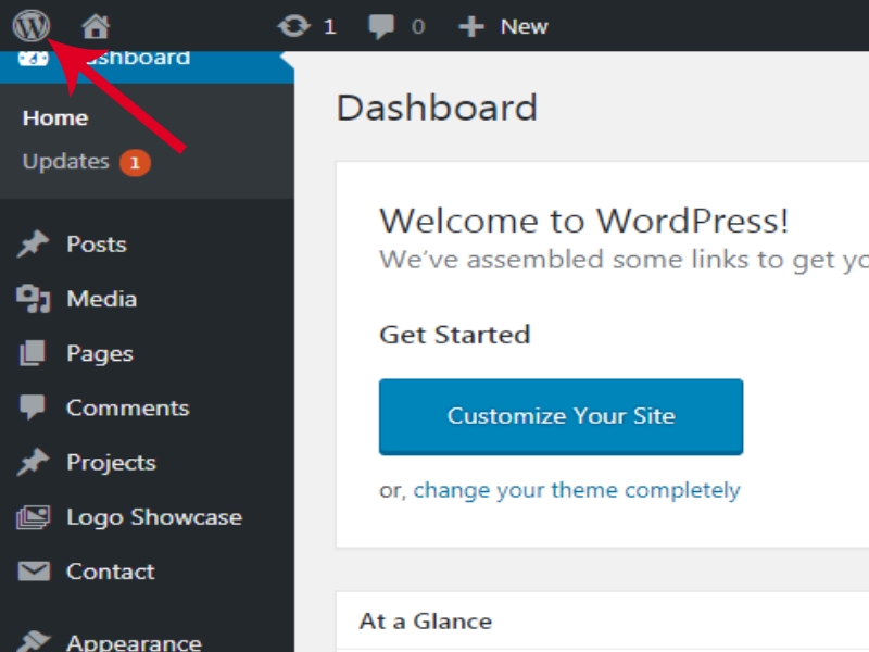 Remove WordPress Logo From Admin Bar And Pages